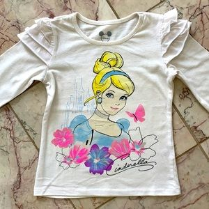 (4 for 20$) Cinderella Shirt for 4Y